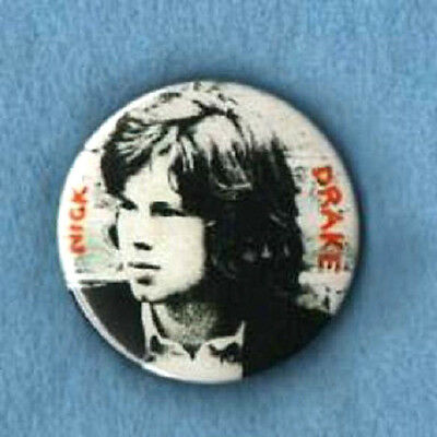 NICK DRAKE  BADGE. Singer songwriter, folk.