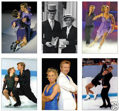 Torvill and Dean Ice Skating Olympic POSTCARD Set