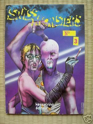 Swiss Brothers  SWISS MONSTERS n°3  kesselring 1980