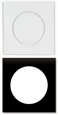 200-Pak =Paperboard= Sleeves with Window (no flap), Black and White
