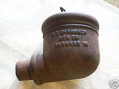 Vintage  Farm  Cast  Iron Water Cup  With  Bail