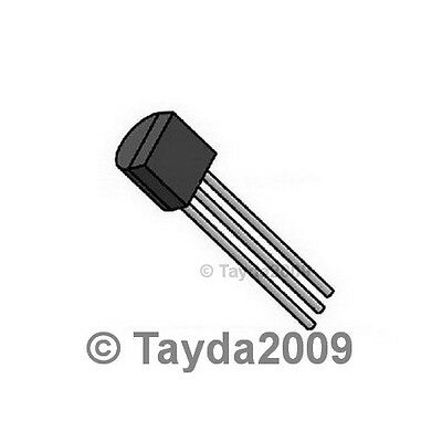 25 pcs. each MPSA42 NPN and MPSA92 PNP Transistor Kit