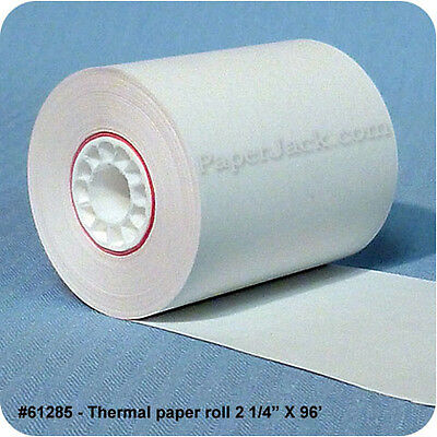 """#61285, Thermal Paper Rolls, 2 1/4"""" x 96' - Case of 100 rolls"""