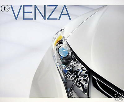 2009 Toyota Venza crossover new vehicle brochure