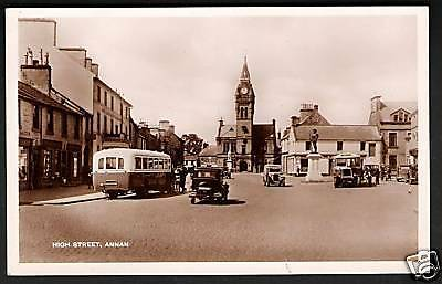 Annan High Street with Buses in M & L National series