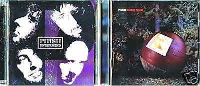 Undermind [CD & DVD] & Round Room [CD] by Phish