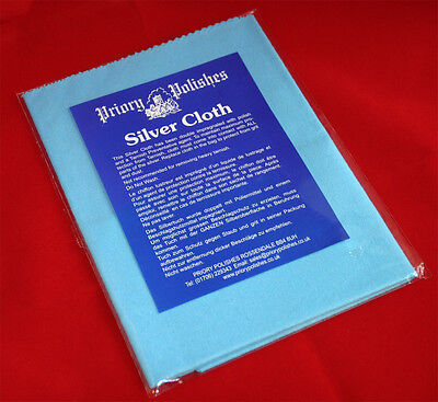 2 X Impregnated Silver Polishing Cloths (Free Postage)