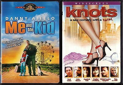 Me and the Kid (DVD, 2004) & Knots (DVD, 2003)  2 Comedy DVDs