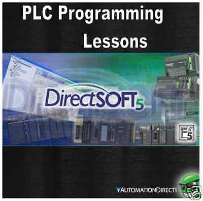 """Automation Direct PLC Training Lessons Learn to program """"DirectSoft 5"""""""