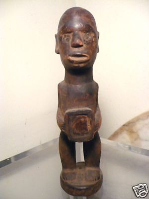 Semi  Antique African Dr Congo Fetish Figure #3