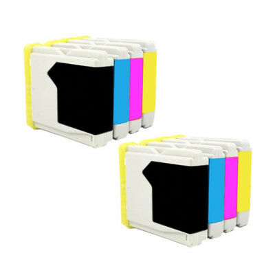 8x Tinta Brother LC1000 LC970 MFC240C MFC440C MFC660CN