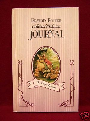 Vintage Beatrix Potters New Journal Blank Diary Collectors Floppy Bunnies
