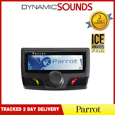 Parrot CK3100 LCD Bluetooth Handsfree Car Kit BLACK