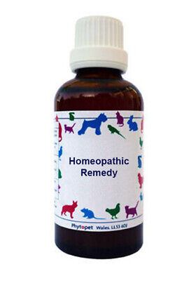 Phytopet Homeopathic Gelsemium 30c Dog Cat Shy Timid