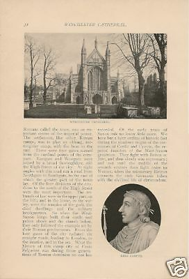 1900 English History in Winchester Cathedral article