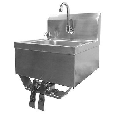 "Hand Sink w/ Knee Operated Valve S/S 16""x15"" (HS-1615KG)"