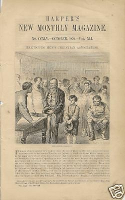 1870 YMCA New York illustrated early article