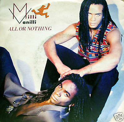 MILLI VANILLI - all or nothing/dream to remember 45""