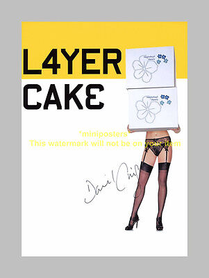 "Layer Cake Pp Signed Poster 12""x8"" Daniel Craig"