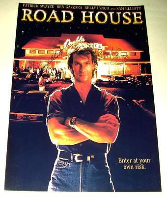 Road House Cast X2 Pp Signed Poster 12X8 Swayze Elliott