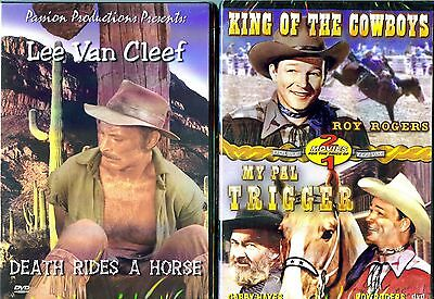 Death Rides A Horse & King Of The Cowboys / My Pal Trigger