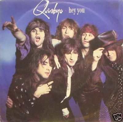 Quireboys - hey you / sex party 45""