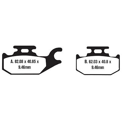 New Brake Pad Set Can Am Outlander Brp 2 Front & 1 Rear Ds Max Xt All 3 Sets