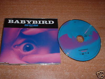 Rarità Raro -   CD Singolo - BABYBIRD : Bad old man