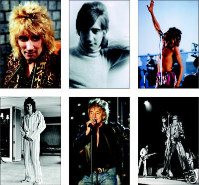 Rod Stewart Superstar 6 Card POSTCARD Set