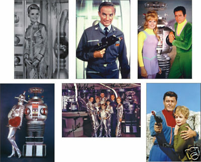 Lost in Space 1960s 6 Card POSTCARD Set