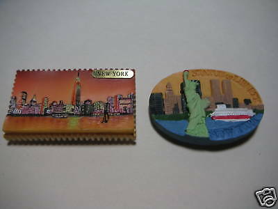 Magnet-Statue of Liberty/Empire State (set of 2)- #788