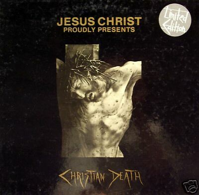 Christian Death - Jesus Christ Proudly Presents BOX 6 x 7""