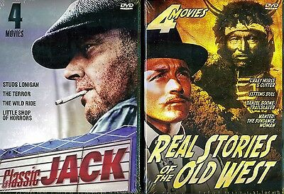 Classic Jack & Real Stories Of The Old West - 8 Movies