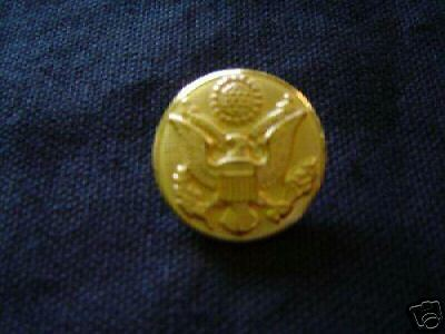 Military Us Army Brass Button For Class A Jacket