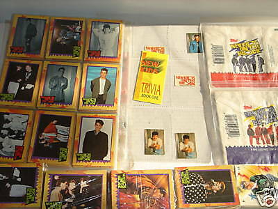 1989 Topps New Kids on the Block Cards, Mint, Set,