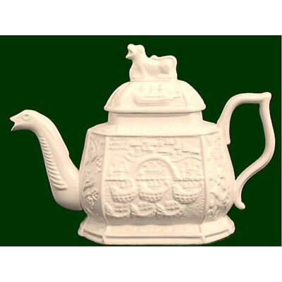 Royal Creamware Limited Edition Admiral Vernon Teapot