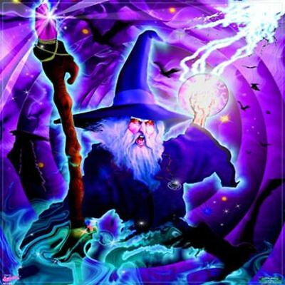 WIZARD WALL BANNER WB09  flag tapestry mystical fantasy