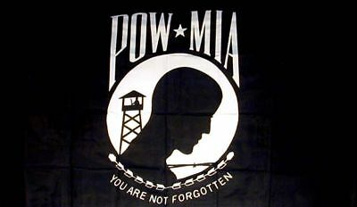 5pc POW MIA FLAGS military war banners novelty flag 3X5