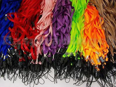 Lot 300 Neck Straps for Cell Phone ID Badge Tag Lanyard