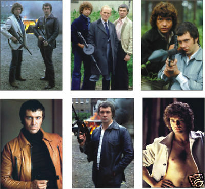 The Professionals Bodie Doyle New 6 Card POSTCARD Set