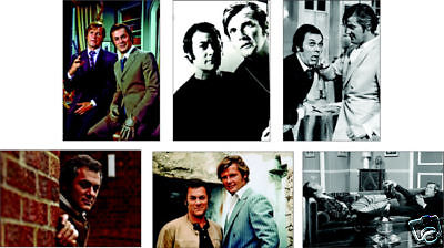 The Persuaders Roger Moore Curtis POSTCARD Set