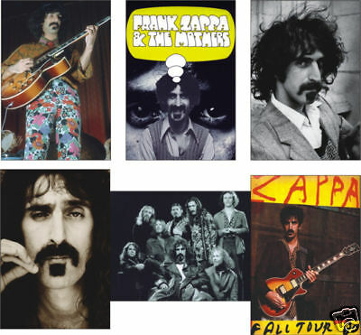 Frank Zappa Mothers of Invention POSTCARD Set