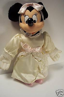 Vintage Plush Minnie Mouse in Wedding Dress Toy • $18.75 - PicClick