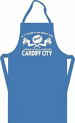 Could Have Played for Cardiff City Football BBQ Apron