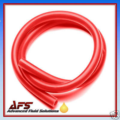"""9mm x 3 METRE RED SILICONE HOSE 3/8"""" SILICON TUBING VAC"""