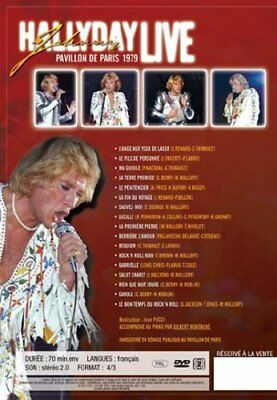 JOHNNY HALLYDAY, PAVILLON DE PARIS 1979, LIVE (Le 8ᵉ album live de Johnny H)