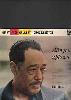 DUKE ELLINGTON & HIS ORCHESTRA - Ellington uptown LP