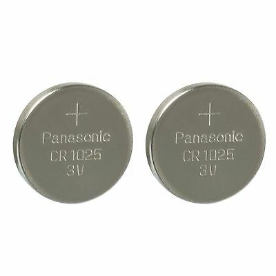 2 PANASONIC CR1025 ECR1025 CR 1025 3v lithium battery