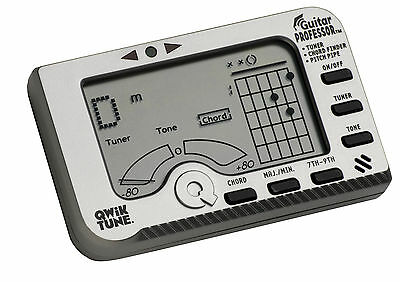 QwikTune Guitar Professor Electronic Tuner And Chord Finder