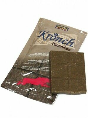 Kronch Pemmikan Energy Boost Feeding Bar Working Dogs - 400g